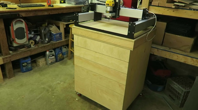 cabinet members shapeoko 3 table amp cabinet go woodwork 12972